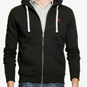 Classic Polo Hooded Zip Jacket